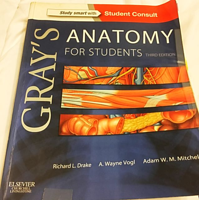 Gray\'s Anatomy For Students Third Edition, Books & Stationery ...