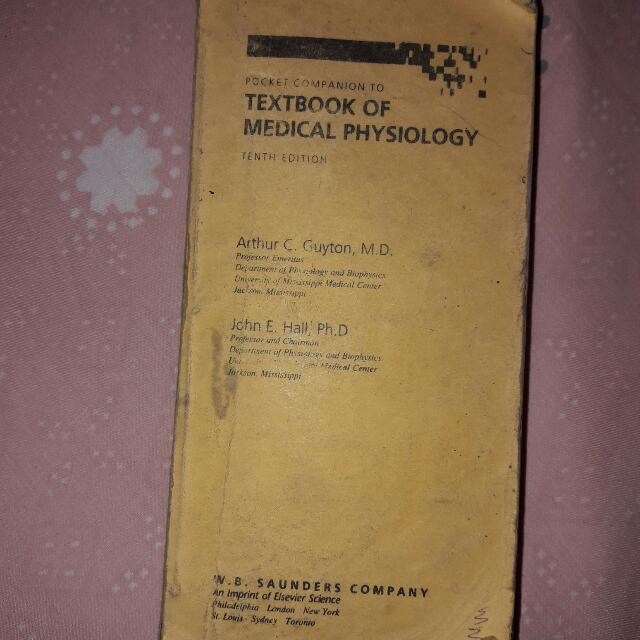 Guyton\'s Textbook of Medical Physiology Summary, Textbooks on Carousell