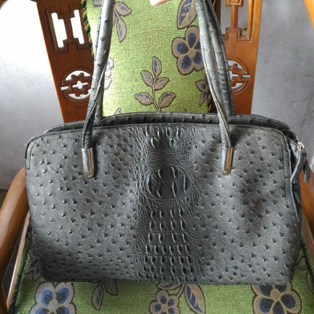Handbags Ballee Full Croco Leather