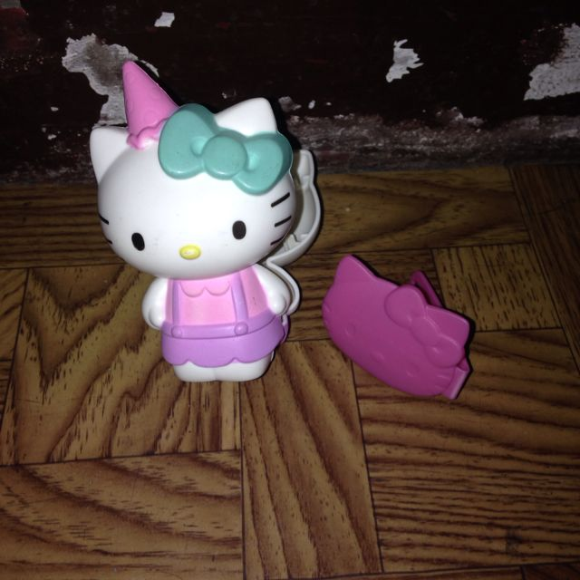 Hello Kitty Clip With Little Hello Kitty Case