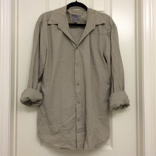 H&M | Oversized Button-Up Blouse