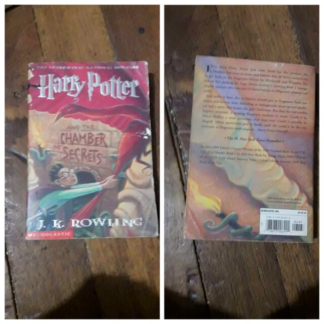 HP and The Chamber Of Secrets