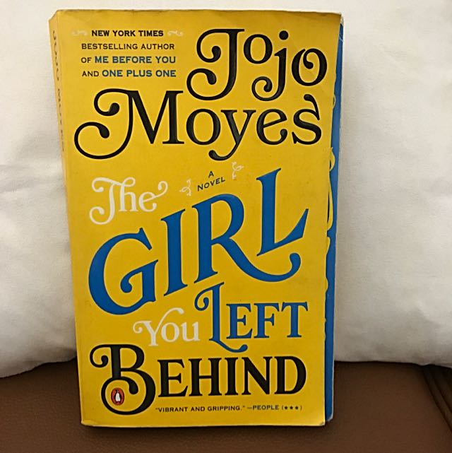 "Import: ""The Girl You Left Behind"" (Jojo Moyes)"