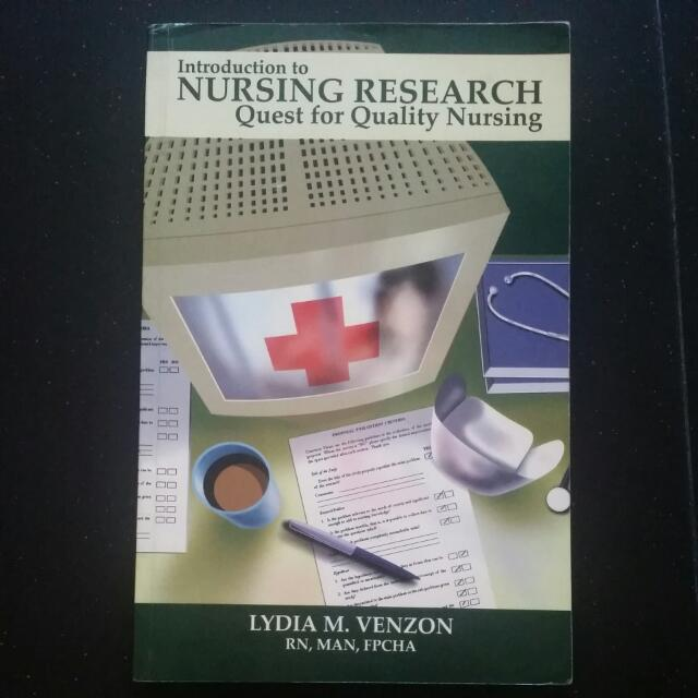 Intro Nursing Research Quest For Quality Nursing