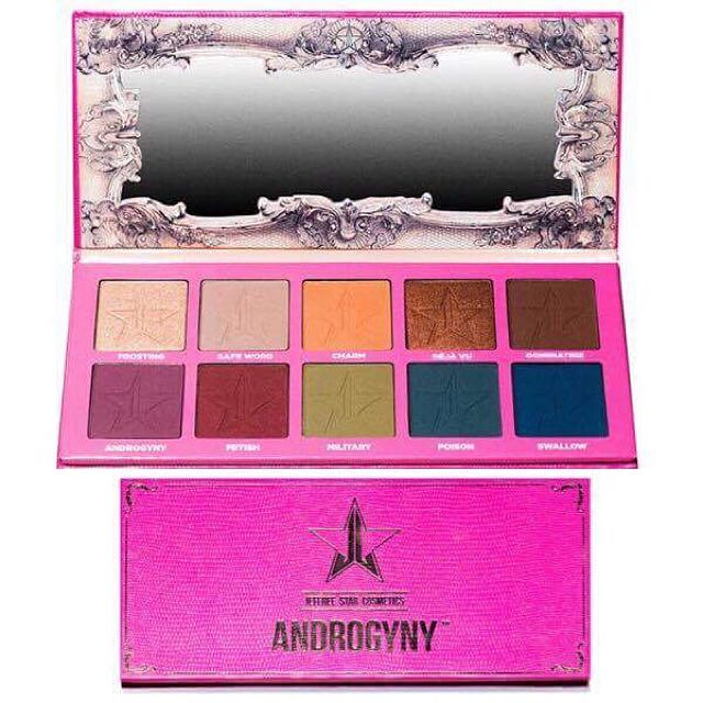 Jeffree Star Androgyny Palette ~ No Swaps ~