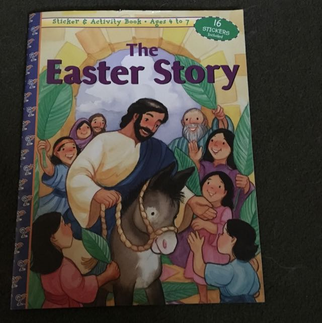 Free Kids Easter Activity Sticker Book