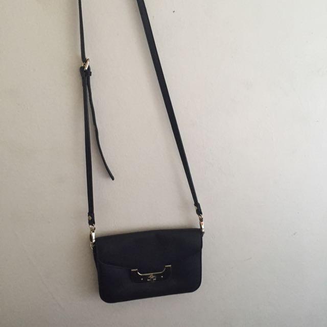 Kookai Leather Handbag/clutch