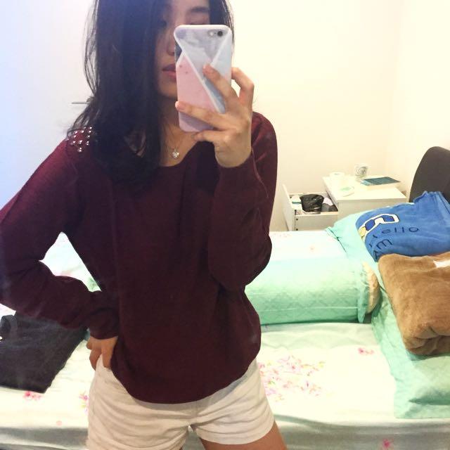 Lee Studs Sweater