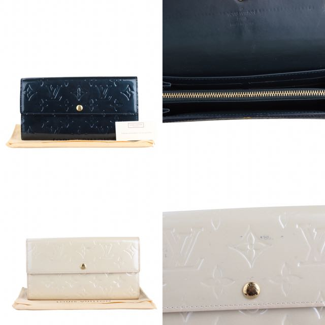 Louis Vuitton Vernis Amarante Wallet