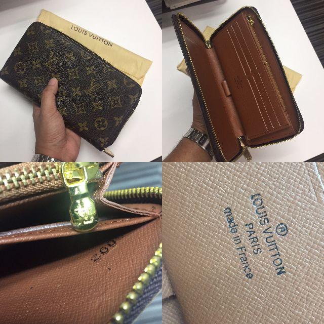Louis Vuitton Zippy Organizer Wallet Monogram