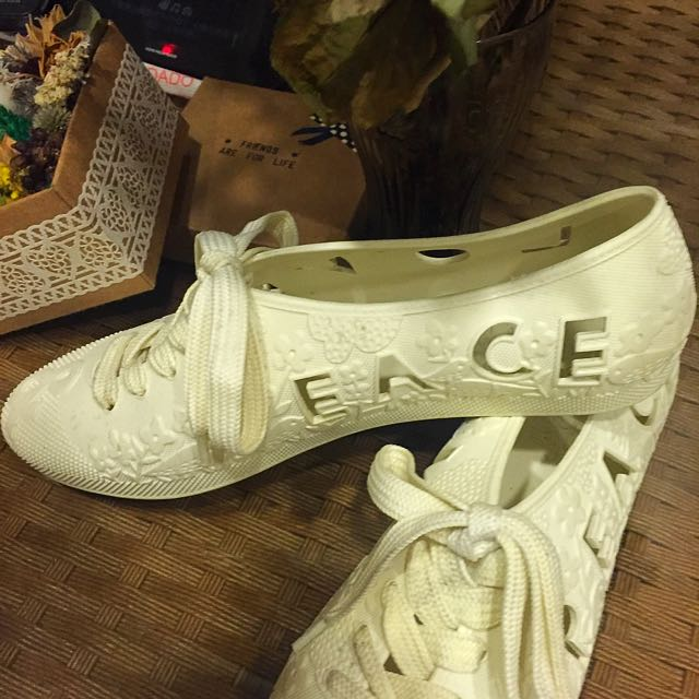 Bathing Shoes Love& Peace 膠鞋 #運費我來出