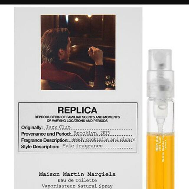 a0b546c54c5 MAISON MARGIELA - REPLICA  Jazz Club (Mini - 1ml)
