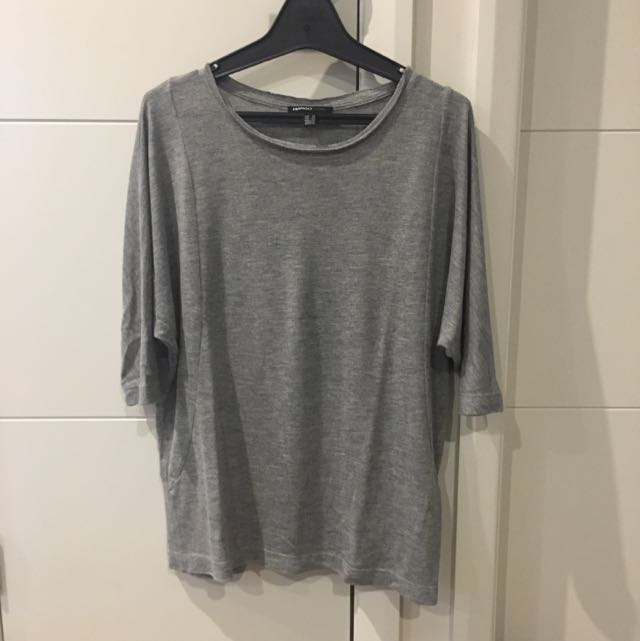 Mango Grey Top