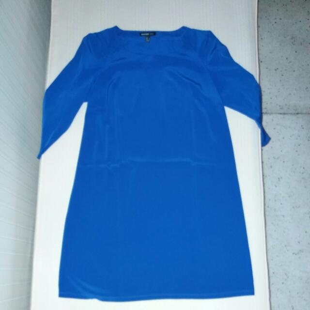 Mango Royal Blue Dress