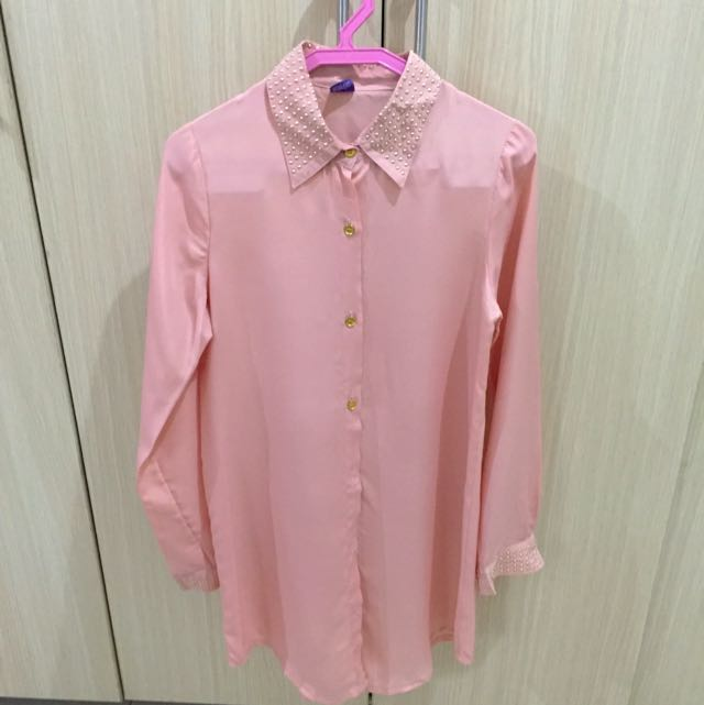 Medium Soiree Peach Top