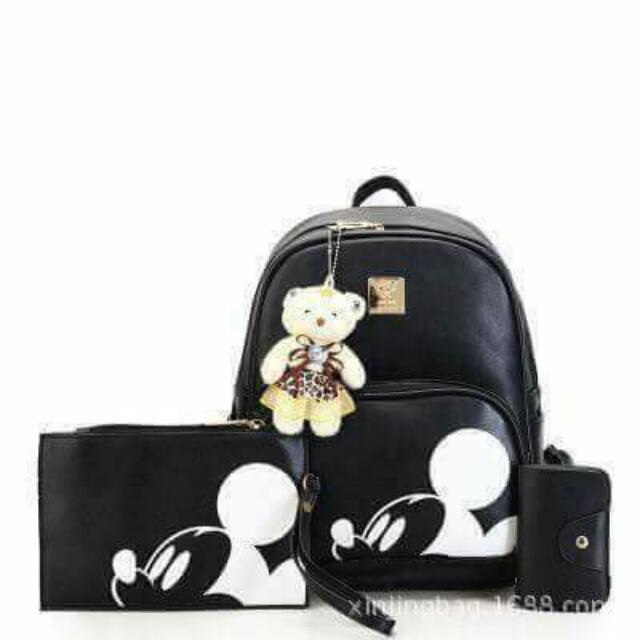 mickey mouse bag (3 in 1)
