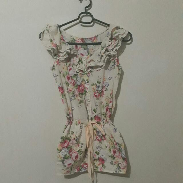 Mini Floral Summer Dress