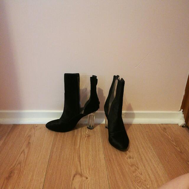 Missguided Velvet Heels
