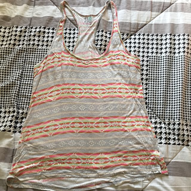 Muscle Tee For Summer Getaway (Cover Up)