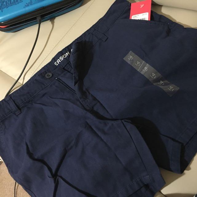 Navy Blue Shorts Emerson