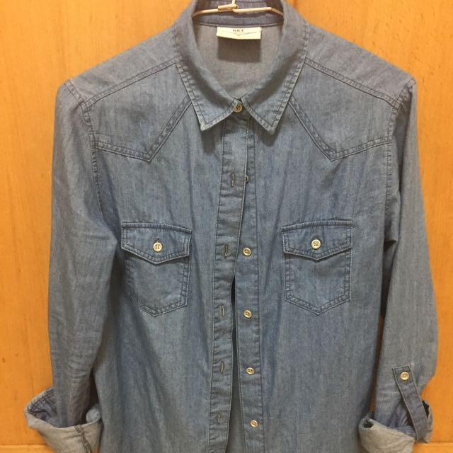 NET藍襯衫(含運