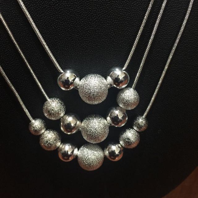 New Design Fancy Silver Chain