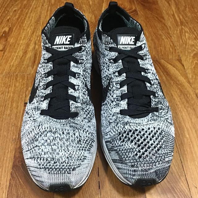 67a4503f5e9b3 ... youtube dfd9c 59dd4  store nike flyknit racer oreo v 1.0 womens fashion  shoes on carousell 9ea95 193a9