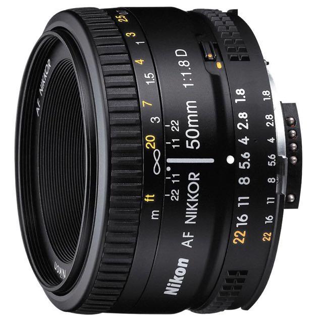 Nikon AF 50mm f1.8D AF Lens - New, In Box