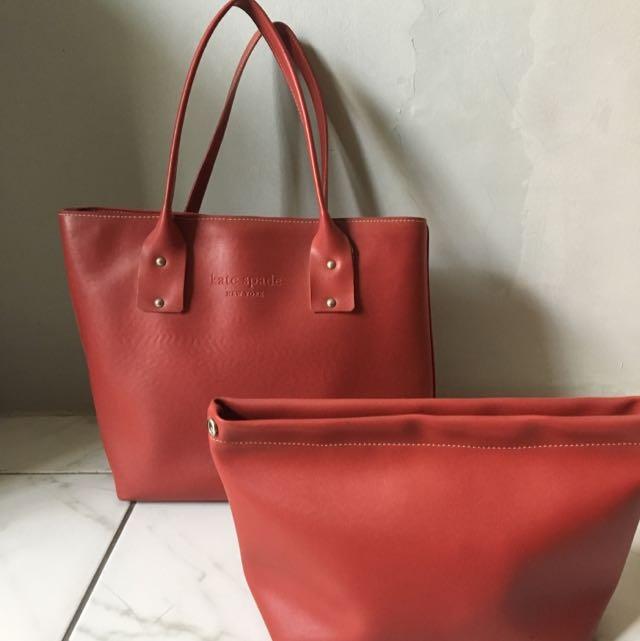 Not Ori kate Spade Red Bag