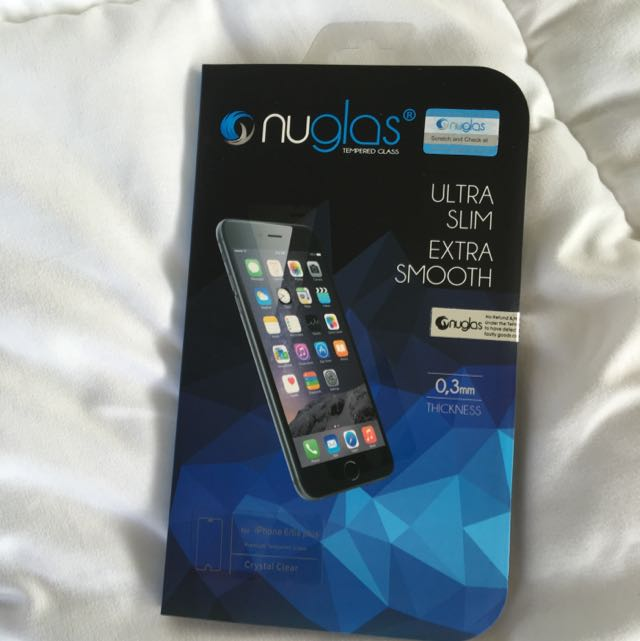 NUGLAS IPHONE 6s + TEMPERED GLASS SCREEN PROTECTOR