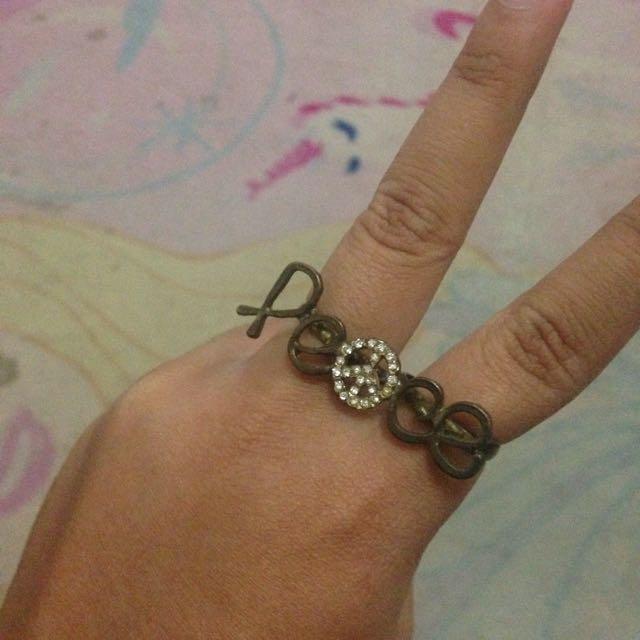 Peace Ring Cincin