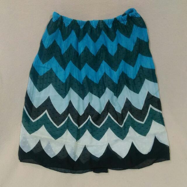 Pre-loved Fun Print Skirt