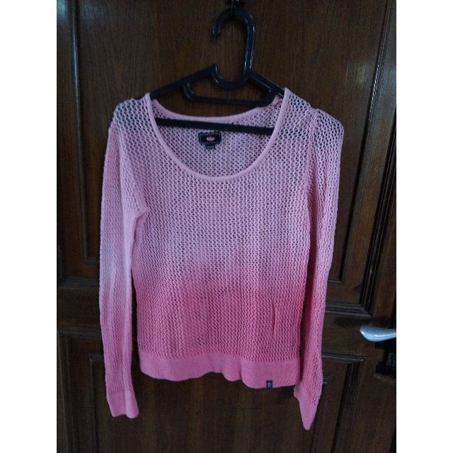 Rprice preloved woman sweater leee copper