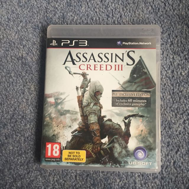 PS3 Assassin's Creed 3 Game