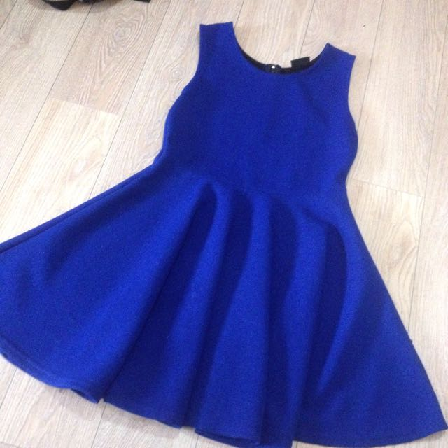 ROYAL BLUE DRESS 💙 (S-M)