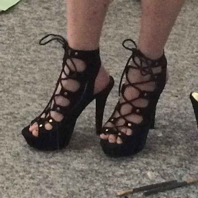 Size 8 High Heels
