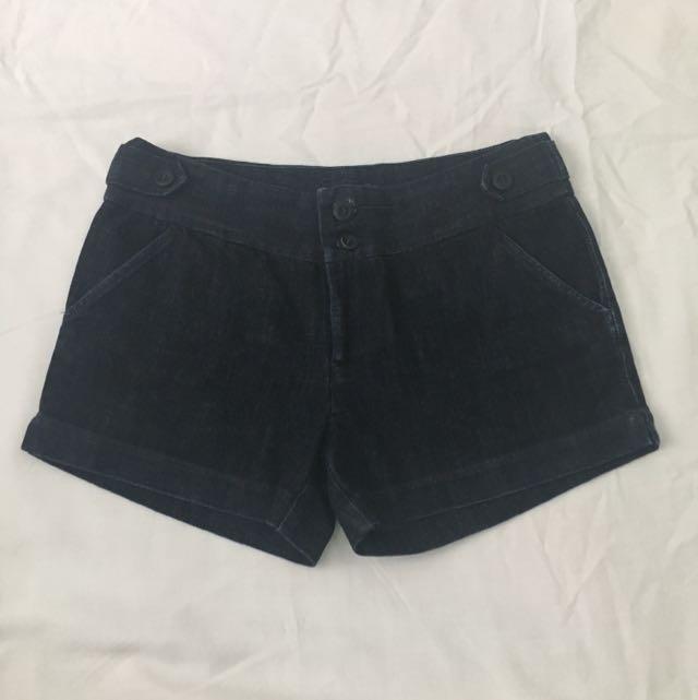 SPACE Denim Shorts