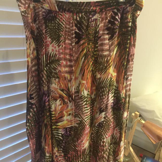 Sportsgirl Tropical Skirt