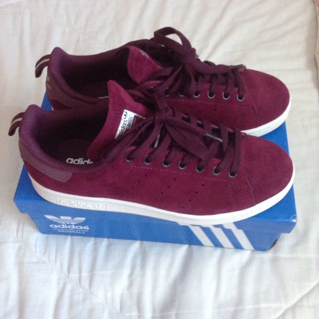 Stans Smith Maroon