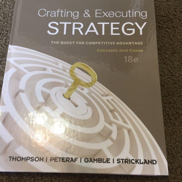 Strategy Textbook