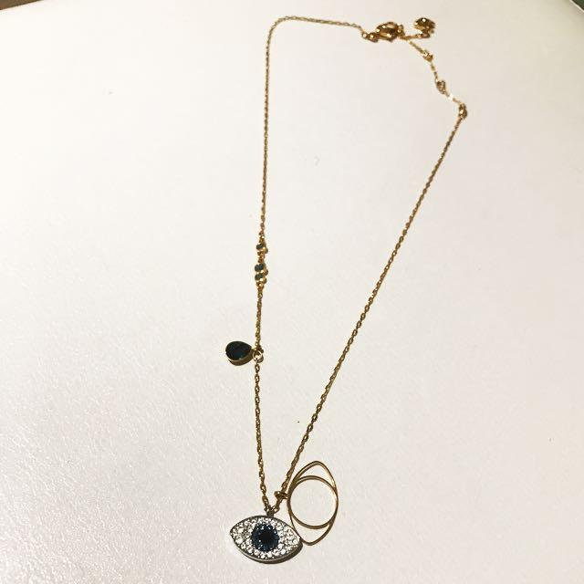 Swarovski Evil Eye Necklace