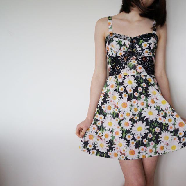 Topshop Daisy Dress