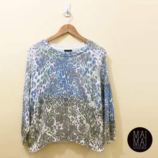 Topshop Printed Sweater