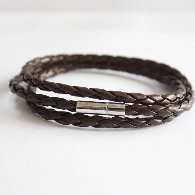 Triple Loop Braided Bracelet
