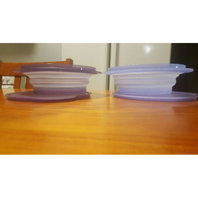 Tupperware Go Flex! 950ml blue containers