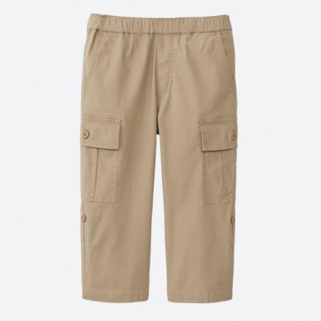b1d0f50e Uniqlo Boys 3/4 Cargo Pants, Babies & Kids, Boys' Apparel on Carousell