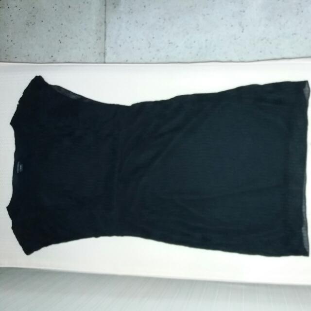 Viseversa Brand black Chiffon Dress