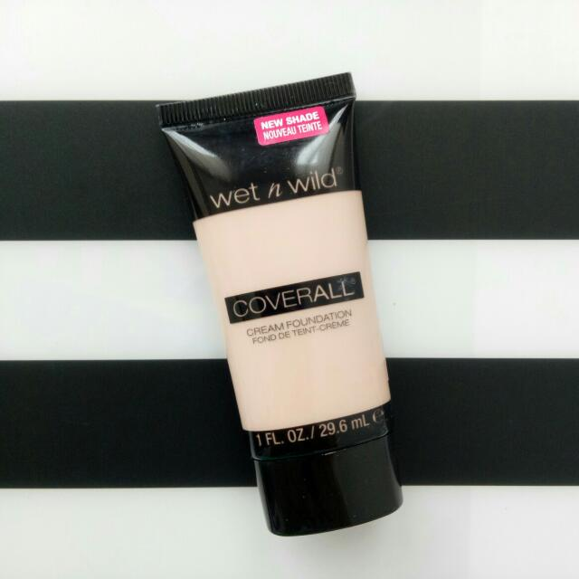 Wet n Wild - Coverall Cream Foundation (Shade E815 - Fair)
