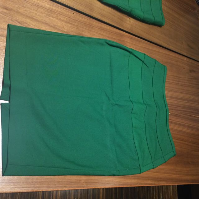 Zara Green Skirt