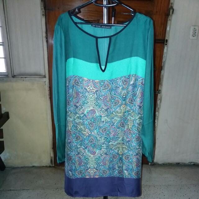 Zara paisley Dress